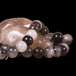Rutilli Kuvars Taşı Taş Sandığı